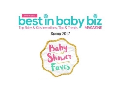Best in Baby Biz Magazine lists Tray Haven as one of their Baby Shower Faves!